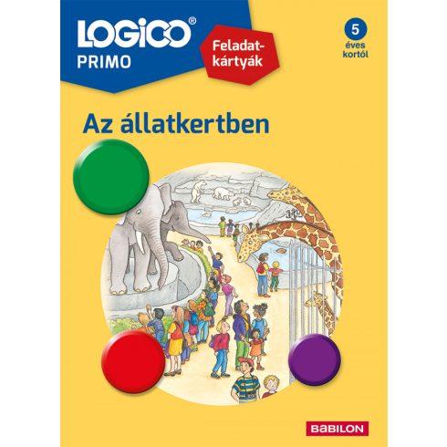 Készségfejlesztő - Logikai - Logico Piccolo állatkertben
