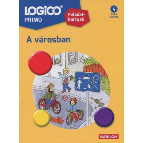 Készségfejlesztő - Logikai - Logico Primo A városban