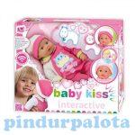 Műanyag babák - Barbie babák - Puszit adó interaktív Loko baba 43 cm-es