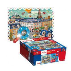 Gyerek Puzzle - Detektív puzzle - Városi nyomozó