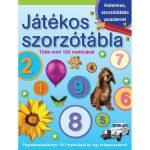 Foglalkoztató könyv - Játékos szorzótábla matricával, poszterrel