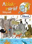 Mesekönyv - Ablak zsiráf könyvek - Állatos