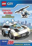 Foglalkoztatók - Lego City Száguldj velünk matricás foglalkoztató