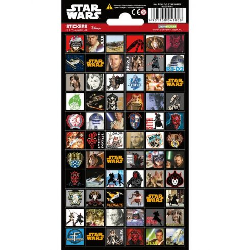 Matricák gyerekeknek - Star Wars matrica csomag
