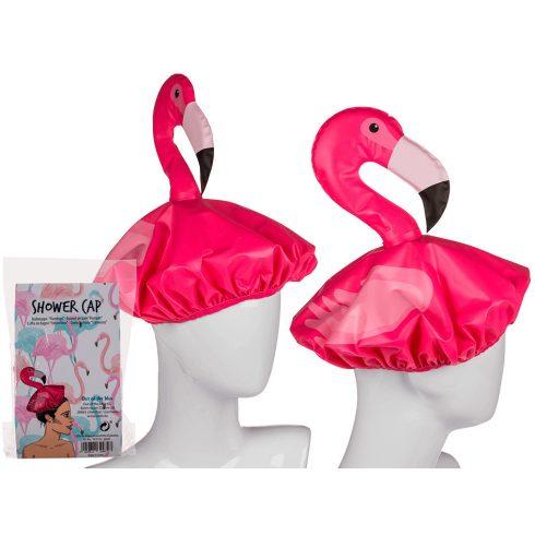 Ajándék a haveroknak - Trendi cuccok - Flamingó fürdősapka