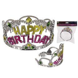 Party kellék - Születésnapi party tiara Happy Birthday felirattal