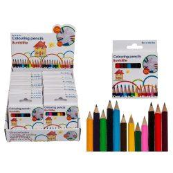 Írószerek - Mini színes ceruza 12 db-os