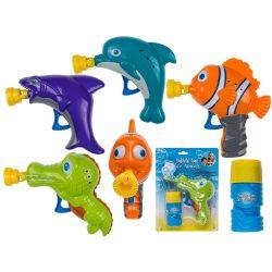 Szabadidős játékok - Állatos buborékfújó 60 ml folyadékkal