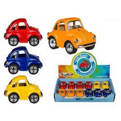 Játékautó - Modell autó VW Beetle, 5cm