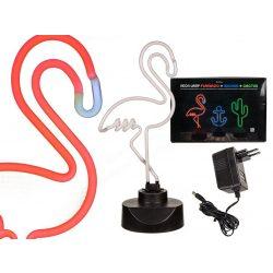 Ajándék a haveroknak - Trendi cuccok - Flamingó Neon lámpa