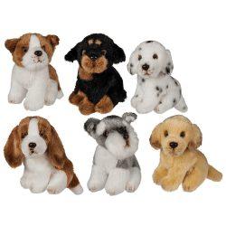 Plüss kutyák - Plüss kutyus 12 cm