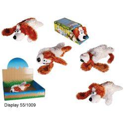Interaktív játékok gyerekeknek - Guruló nevető interaktív kutya, 29 cm