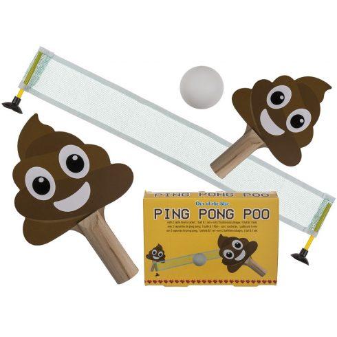 Ajándék a haveroknak - Trendi cuccok - Kaki pingpong felszerelés, ütővel, labdával