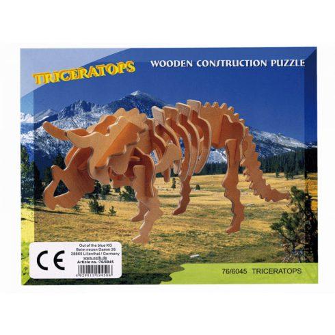 3 D-s puzzle - 3 Dimenzióban megjelenő összerakós játékok - 3D Fapuzzle dinók, többféle