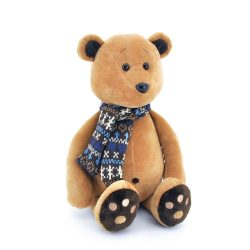 Orange Toys Plüss állatok - Plüss Honey a maci sállal 20cm Orange Toys