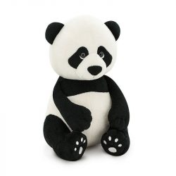 Plüss mackók széles választékban a Pindur Palotában - Boo a Panda Orange Toys Doboz házzal 25 cm