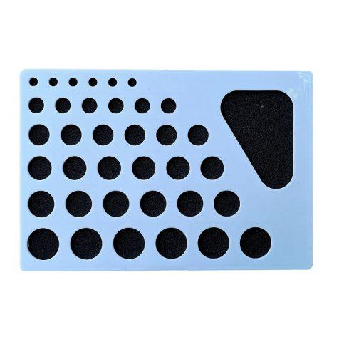 Quilling papírcsík technológia eszközök - Quilling sablon II. A körformáknak
