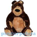 Masha és a medve mesefigurák - Medve plüss 25 cm