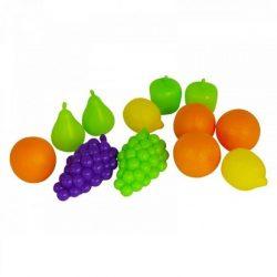 Játék konyhák - Edények - Játék élelmiszerek - Játék élelmiszerkészlet 12 darabos