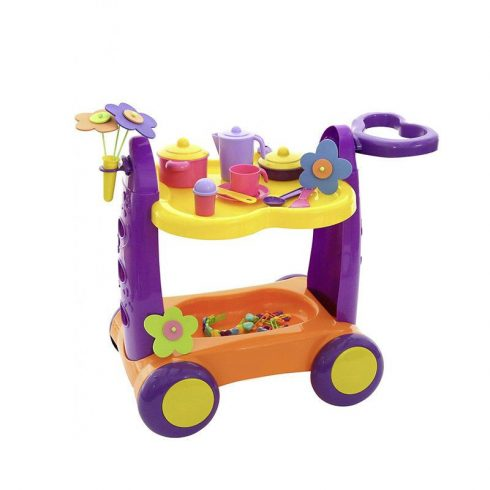 Játék konyhák - Játék konyhai szervírozó kocsi