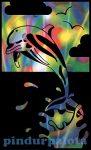 Rajzkészség fejlesztő játékok - Reeves színes képkarcoló delfin