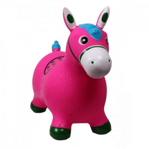 Játékok gyerekeknek - Ugrálófigurák - Rózsaszín póni ugrálófigura