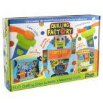 Kreatív Hobby - Quilling papírcsík technológia - Quilling készlet fiúknak