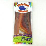 Quilling papírcsík technológia eszközök - Quilling papír csíkok Bronz