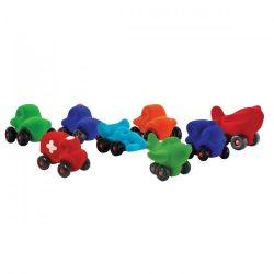 Puha játékok babáknak - Rubbabu járművek