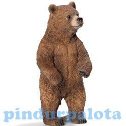 Vadállat figurák - Grizzly nőstény Schleich