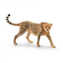 Állat figurák - Vadállatok - Schleich Nőstény gepárd műanyag játékfigura