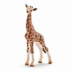 Állat figurák - Vadállatok - Schleich Zsiráfborjú műanyag játékfigura