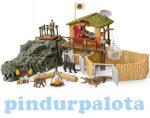 Schleich készletek - CROCO dzsungelkutató állomás Schleich