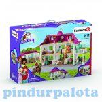 Lovas játékok - Szerepjátékok - Schleich Horse Club lakóházzal és istállóval