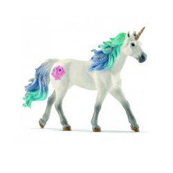 Lovas játékok - Schleich Narvál mén műanyag ló játékfigura