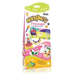 Quilling papírcsík technológia eszközök - Hercegnős kreatív Quilling szett gyerekeknek - Spyrosity