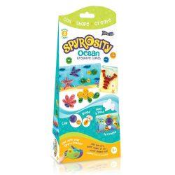 Quilling papírcsík technológia eszközök - Tengeri Világ Quilling szett gyerekeknek Spyrosity