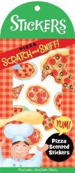 Írószerek - Iskolaszerek - Matricák - Illatos matrica pizza