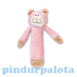 Baby játékok és kellékek - Plüss csörgő cica
