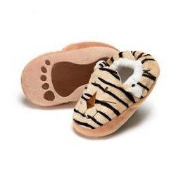 Puhatalpú babacipők - Tigrises - Diinglisar