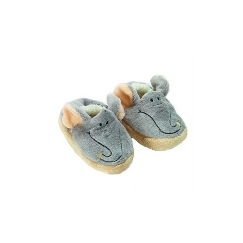 Puhatalpú babacipők - Teddykompaniet - Elefántos baby cipő