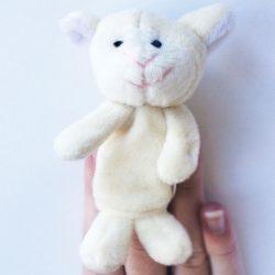 Teddykompaniet - Bárány ujjbáb