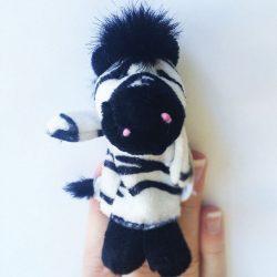 Teddykompaniet - Zebra ujjbáb
