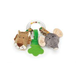 Zenélő játékok - Csörgők - Elefánt és oroszlán