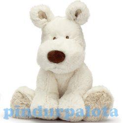 Plüssök - Kutyák - Teddy Cream kutyus kicsi fehér 21 cm
