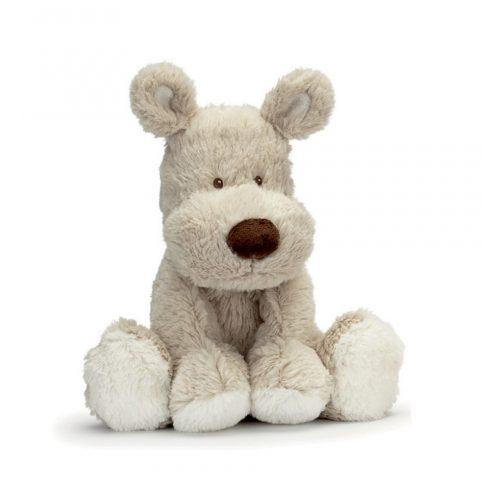 Teddykompaniet - Teddy Cream - kutyus-kicsi szürke - 21cm - Plüss állat
