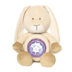 Alvókák - Alvó barátok - Diinglisar Nyuszi világitó pocakkal 23 cm Teddykompaniet