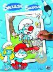 Kreatív hobby - Kifestők - Hupikék törpikék varázskifestő