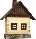 Építőjáték - Építős játékok - Fakunyhó falra kicsi