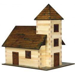 Barkácsolós játékok fiúknak - Város építős játékok Templom makett